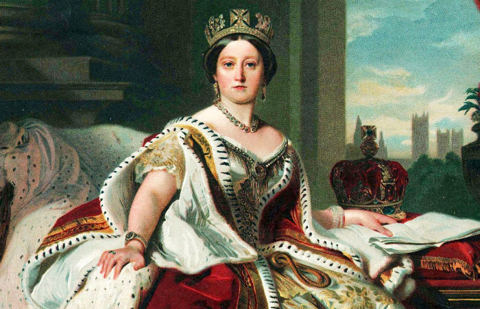 У ног королевы Виктории была, казалось, половина мира
